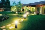 Системы освещения фасадов и ландшафта на участке