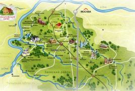 Заокский район находится на северо-западе Тульской области, на границе с Южным Подмосковьем.