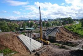 Мост через Скнигу уже открыли