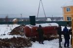 Очередной газгольдер в Заокском